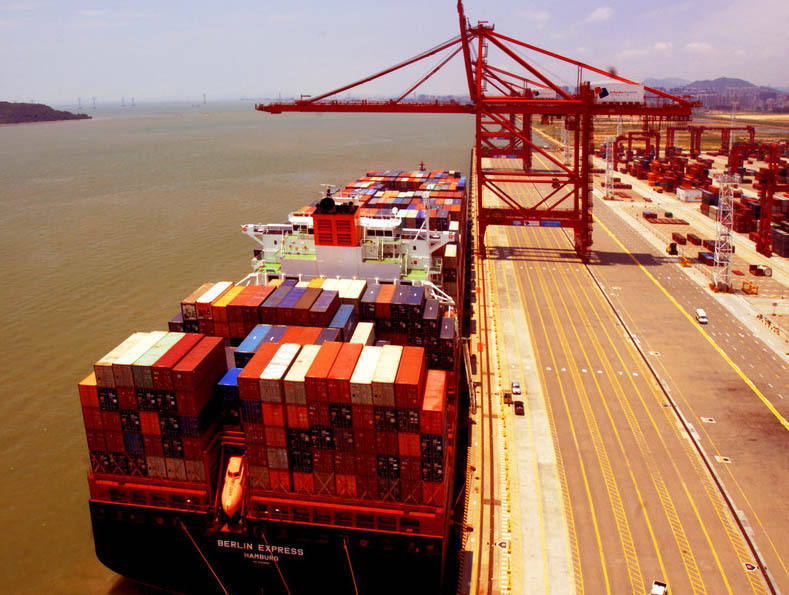 consolidate order into one container shipping service in China