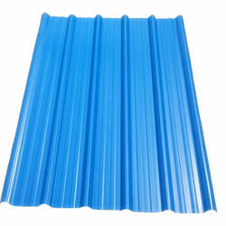 ASA Pvc Corrugated plastic roofing sheet / 3 layers PVC roofing tile for industrial Warehouse