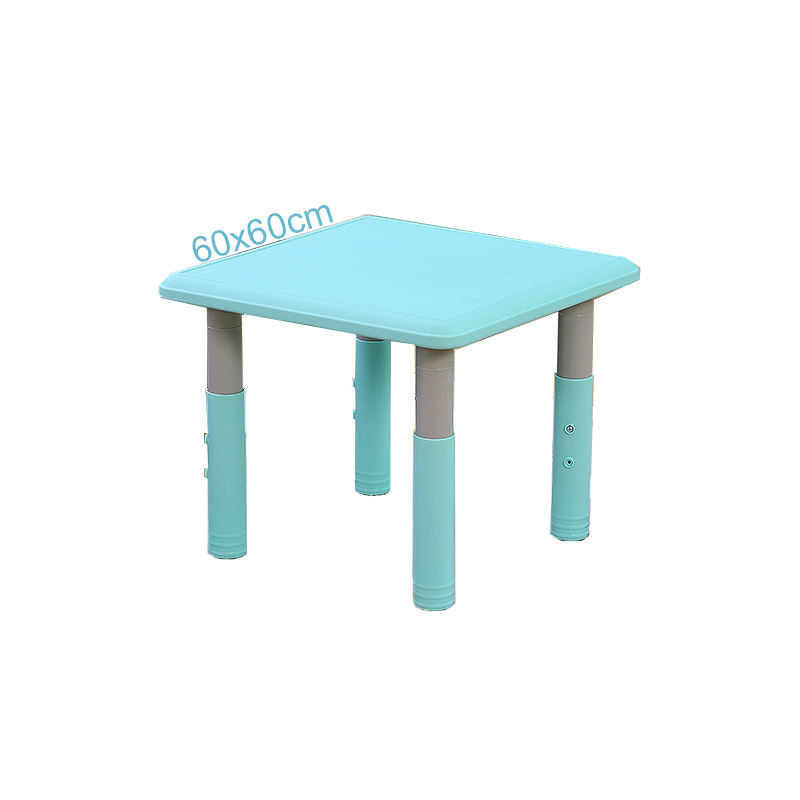 Plastic Material Baby Adjustable Kid Table for Home Kindergarten Use