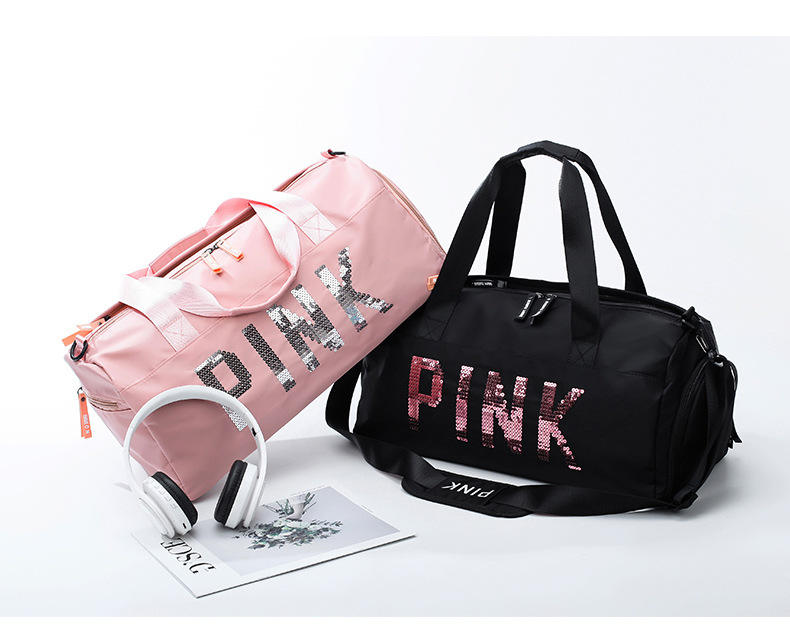 Ginzeal wholesale customized gym duffel bag with shoe compartment for promotion