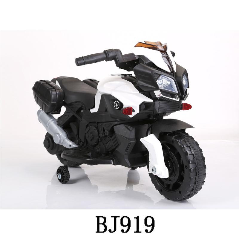 Street Racer 12 V Elétrica Kids Ride-Na Motocicleta-branco