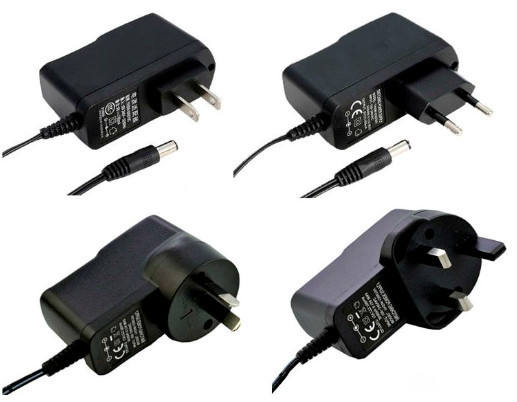 Power Adapter input 100-240vac output 9V 500mA adapter CE FCC ROHS UL