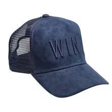 New trend suede mesh trucker cap with custom logo