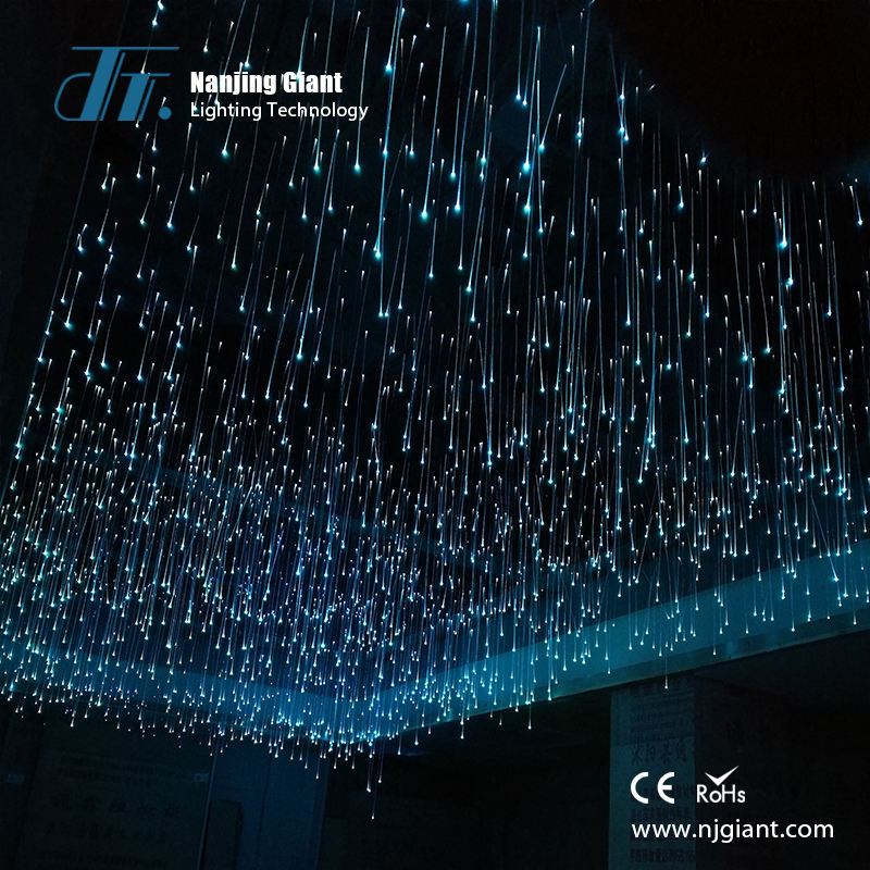 Customizable fiber optic twinkle star ceiling lighting kit