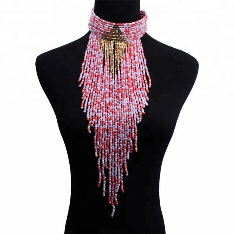 Multilayer Boho Patterns Seed Latest Design Beads Necklace Buy Latest Design Beads Necklace Bead Necklace Seed Bead Patterns Necklace Bead Necklace Product On Alibaba Com