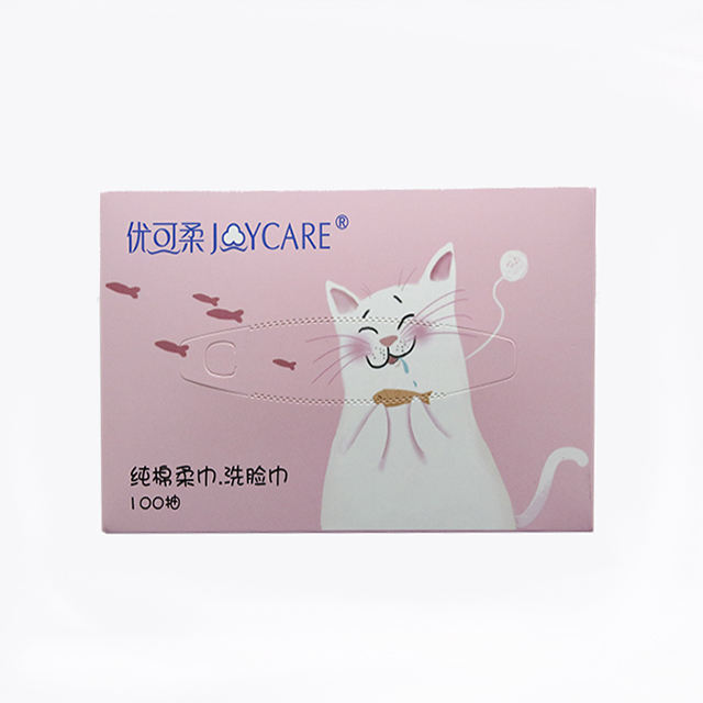 China Hot Sale Priced to sell custom gift cotton facial paper tissue