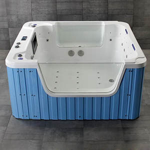 84 Inch Big Baby Bath Tub for 6 Month Old  Kid Whirlpool Bubbling Spa Toddler Tub