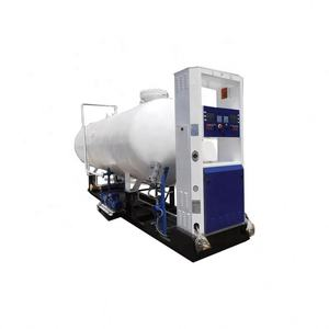 best price mini lpg cooking gas filling plant / station for cylinder and car
