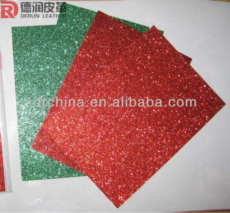 Feuilles a4 soft touch d'paillettes papier scrapbooking carte de faire beaucoup de couleurs de papier brillant