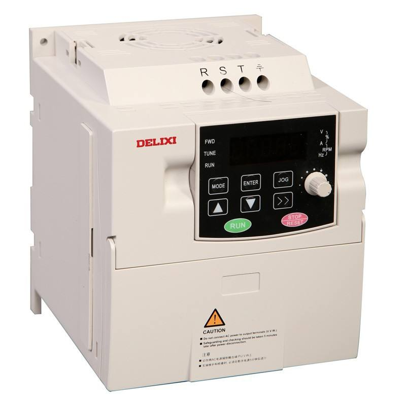 Delixi high quality AC three phase 220v 380v frequency converter frequency inverters convertidor frecuencia de 50