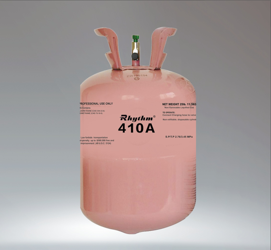 99.9% superior purity mix refrigerant gas R410a for promotion