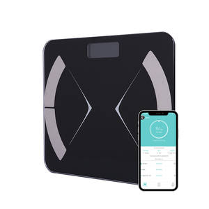 Digital Body Weight Bathroom Scale with Tempered Glass Easy Read Weight Scale