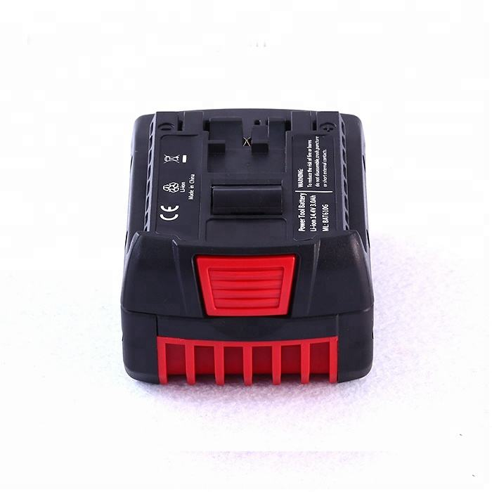 Replacement Battery High Capacity For Bosch 18V 6.0A Power Tool Accessories Cordless Drills BAT610 with LED Charge Indicator