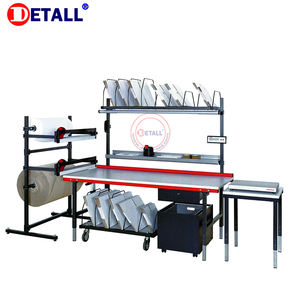 Detall-phone repair production and package packing table