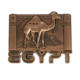 Egypt tourist souvenir 3d fashion camel alloy fridge magnet