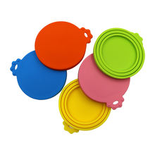 Hot Sales Reusable Silicone Food Bowl Can Cover / Storage Tin Cap Lid