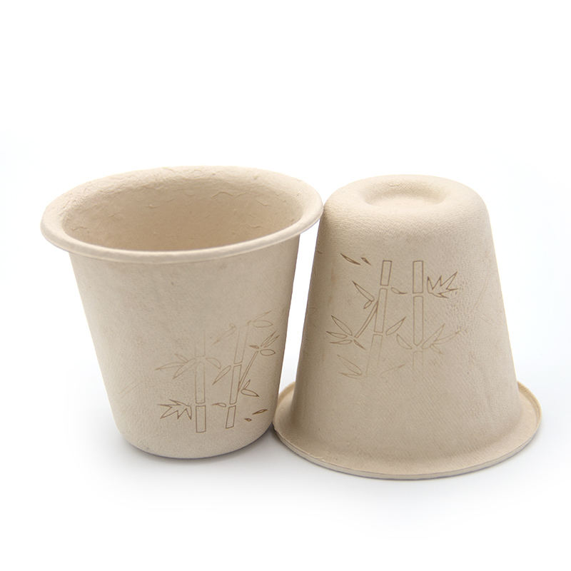disposable eco friendly bamboo fiber Water Cup Biodegradable Coffee Cup