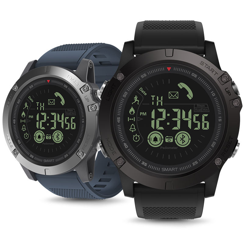 Perfetto!! nuovo Zeblaze VIBE 3 IP67 Impermeabile Smartwatch Wearable Dispositivo di Frequenza Cardiaca Monitor IPS Display A Colori di Sport Intelligente Orologio