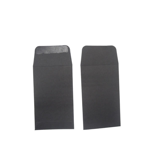 Wholesale 1 Pack 1000pcs 150gsm Black White Paper Small Size Coin Envelopes Seed Envelope Recycled Black Coin Envelopes