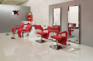 2015 kosten- effectiv salon meubels combinatie/populaire hair styling chairs+stainless staal spiegel station+beautifu shampoo stoel