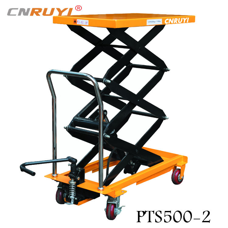 2000mm Small Platform Scissor Car Lift Mini Scissor Lift Hydraulic