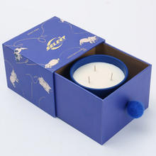 Wholesale Custom 3 Wicks with Luxury Gift Box Scented Candle
