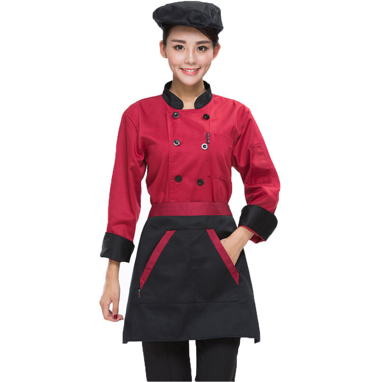 Fashion Design Western Chef Uniform Jacket Kitchen Cook Uniform