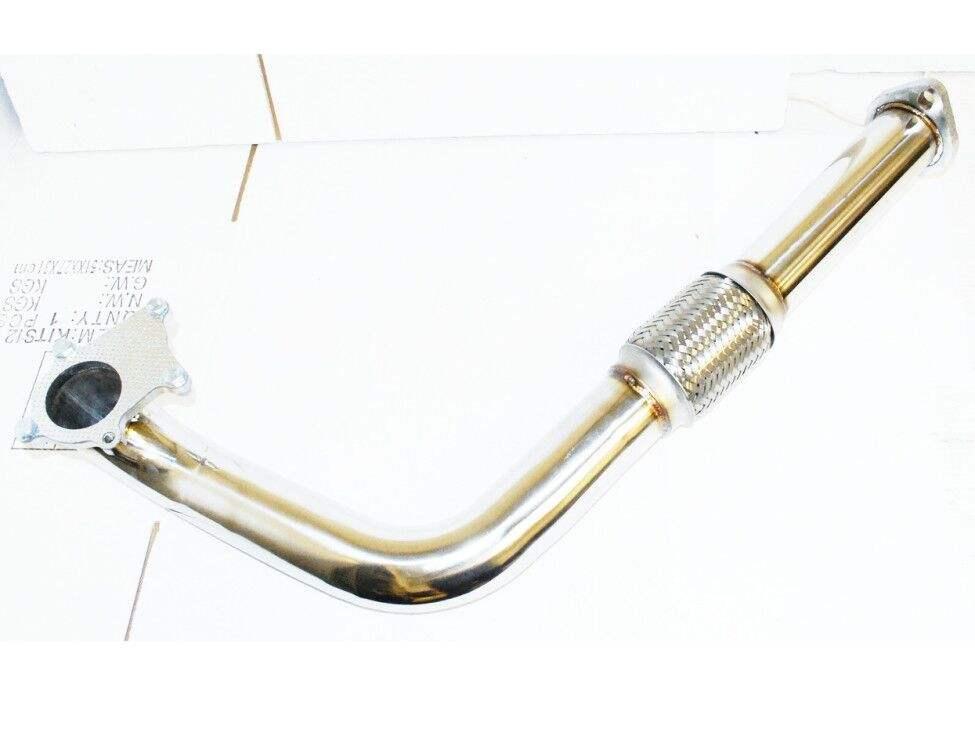 "2.25/"" T3//T4-5 BOLT TURBO FLANGE+2 BOLT EXHAUST FLANGE Downpipe D15D16 Series"