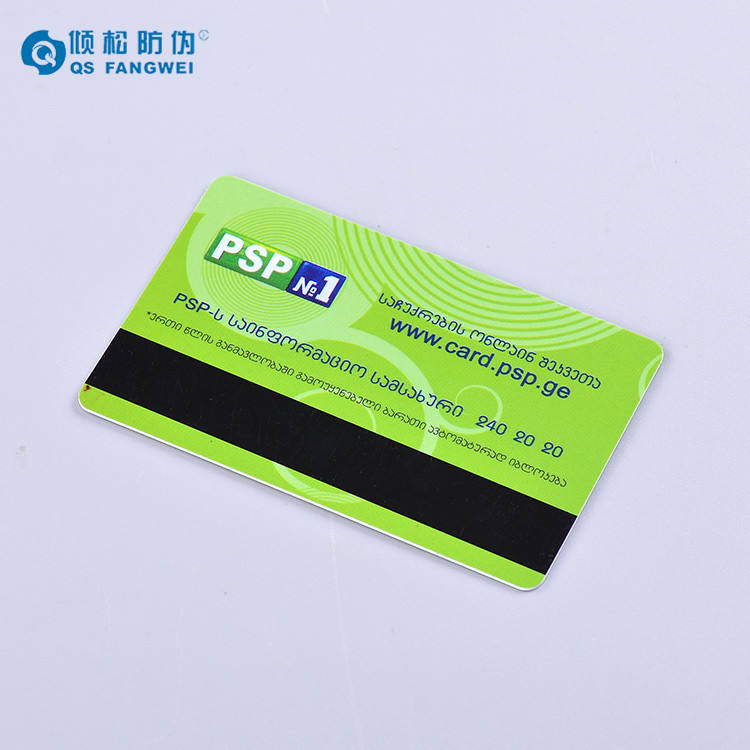 Oem welcome plastic pvc card with magnetic stripe