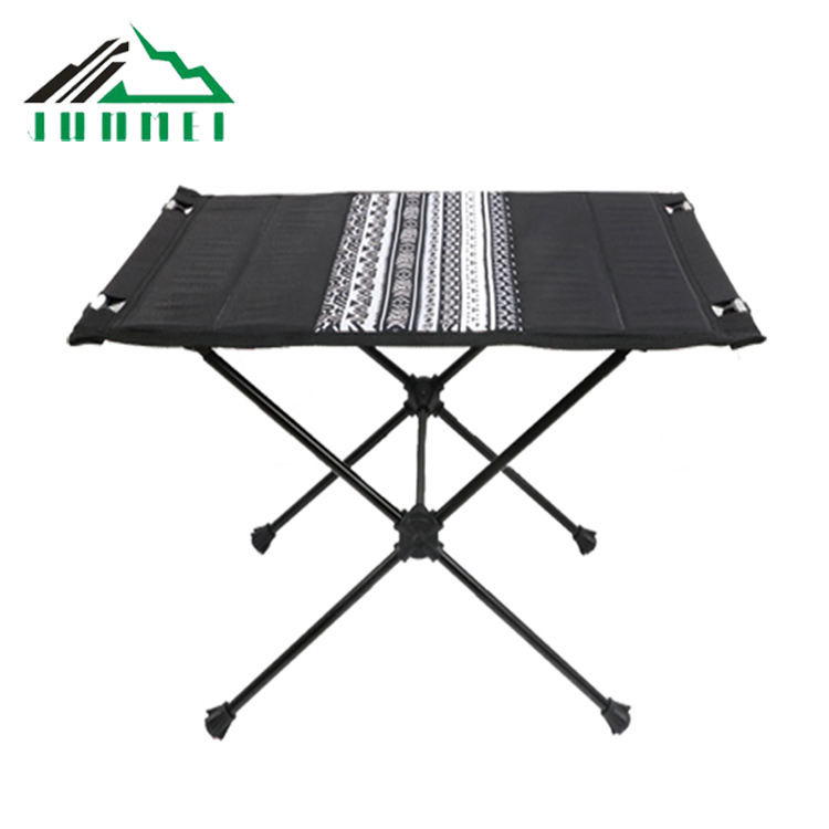 Light weight Aluminum Metal Shaft Portable Outdoor Folding outdoor Table Camping Fold Up Table
