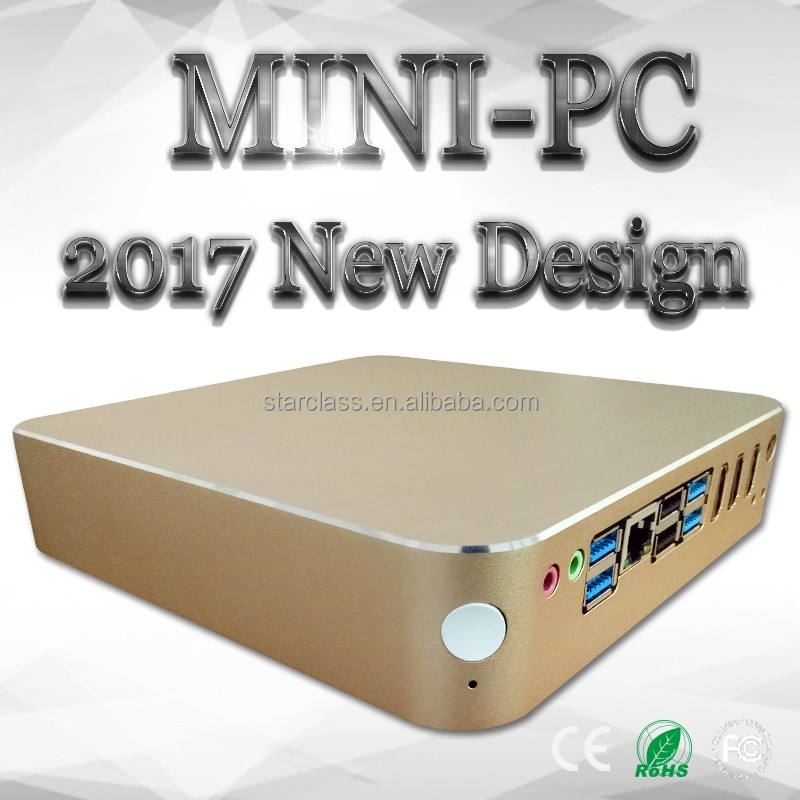 2016 Newest item China Computer Hardware 4 Ethernet Mini PC industrial