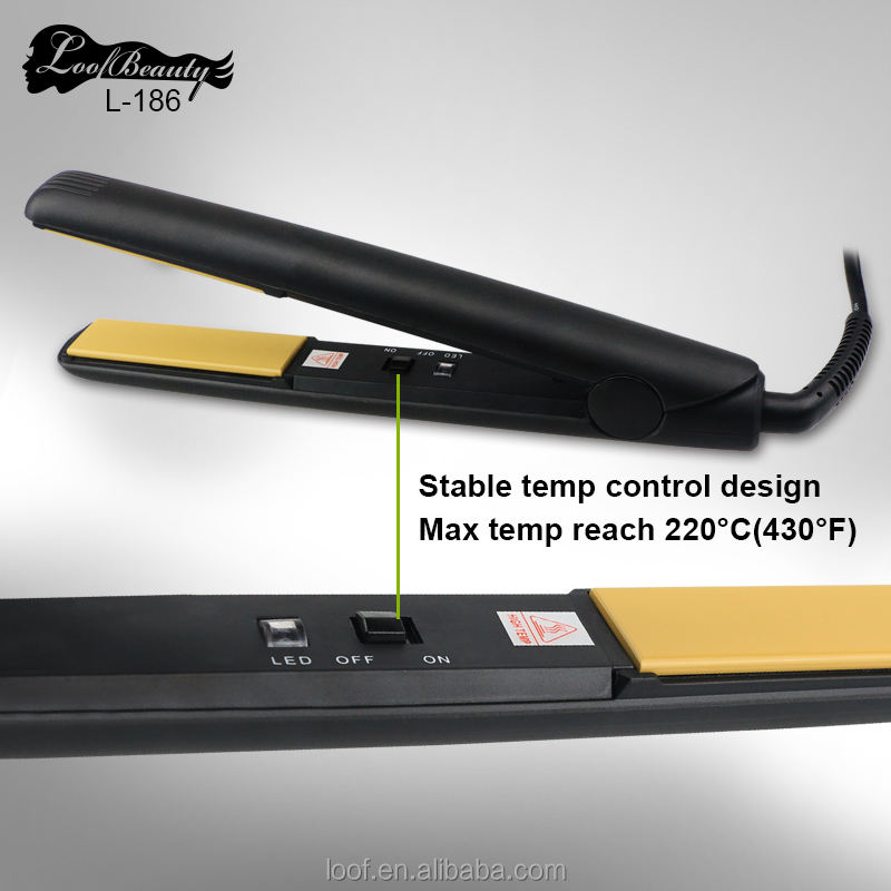 2020 Custom Flat Irons with Private Label Professional LCD Digital Display Tourmaline Ceramic Flat irons Hair Straightener