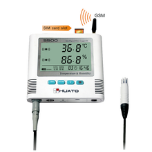 warehouse use temperature monitoring gsm sensor temp higrometre
