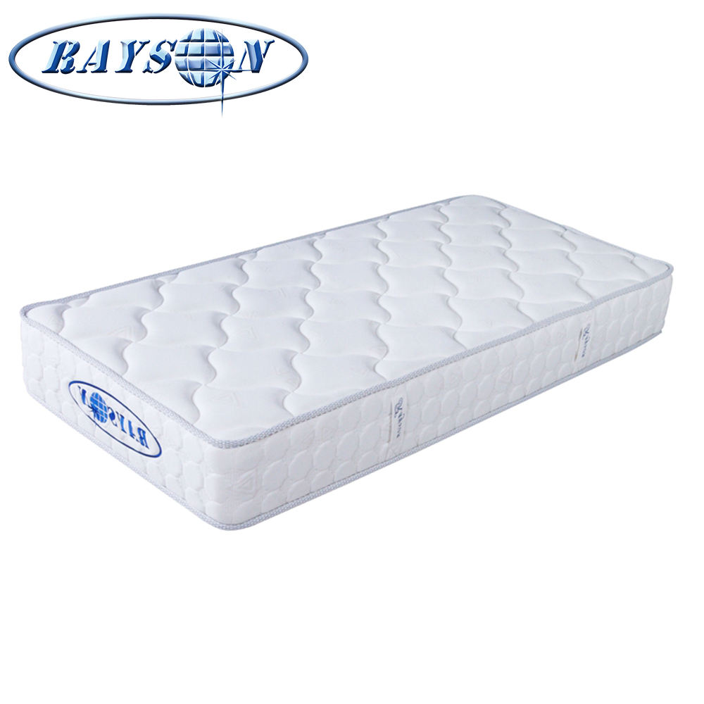 For Sale Tight Top Bunk Bed Mattress One People Sleeping Bed-Matress Comfort Zone Single Size Lastic Spring Mattress