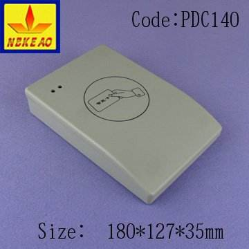 Card reader housing access control enclosure best price smart door box electrical enclosure IP54 PDC140 with size 180X127X35 mm