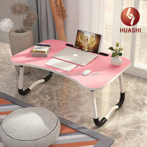mini end table foldable easy carrying coffee table for lap phone and notebook multi function