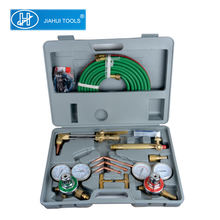 Gas Welding and Cutting Torch Kit Oxy Acetylene Oxygen Brazing Professional Set Carrying Case