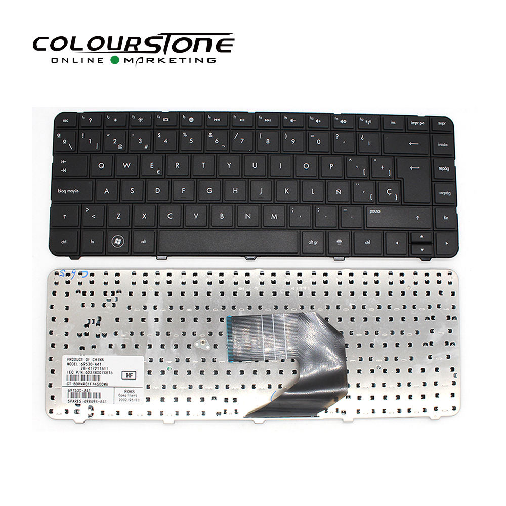 Cq43 Spanish Laptop keyboard for G4 G6 sp teclado CQ43 cq57 SP G4-1000 sp notebook keyboard