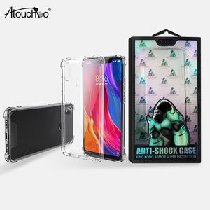 ATOUCHBO Anti-shock Wholesale High clear explosion proof back cover mobile phone case for xiaomi Mi 8
