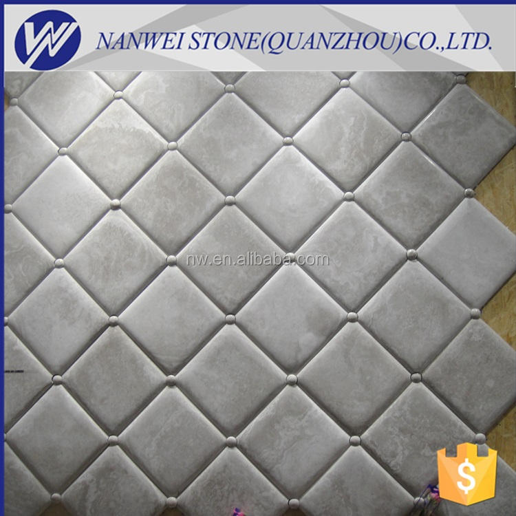 luxury design marble Polished Building material Mosaic tiles kitchen accessories discount mosaic bathroom stone mosaics