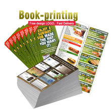 Printing factory design express brochure a5 flyer magazine catalogue