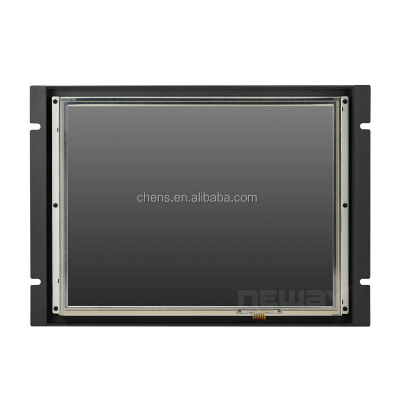15 inch Touch Screen HDMI VGA DVI Open Frame Embedded LCD Monitor