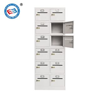Staal Wandmontage Mailbox Elektronische Locker Brief Doos Appartement Metalen Post Pakketservice Mail Box