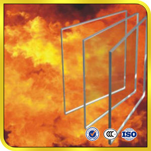 Fireproof tempered glass 90 min 120 min 1.5h 2h 5mm 6mm 8mm 12mm 15mm 19mm fire retardant glass/fire resistant glass
