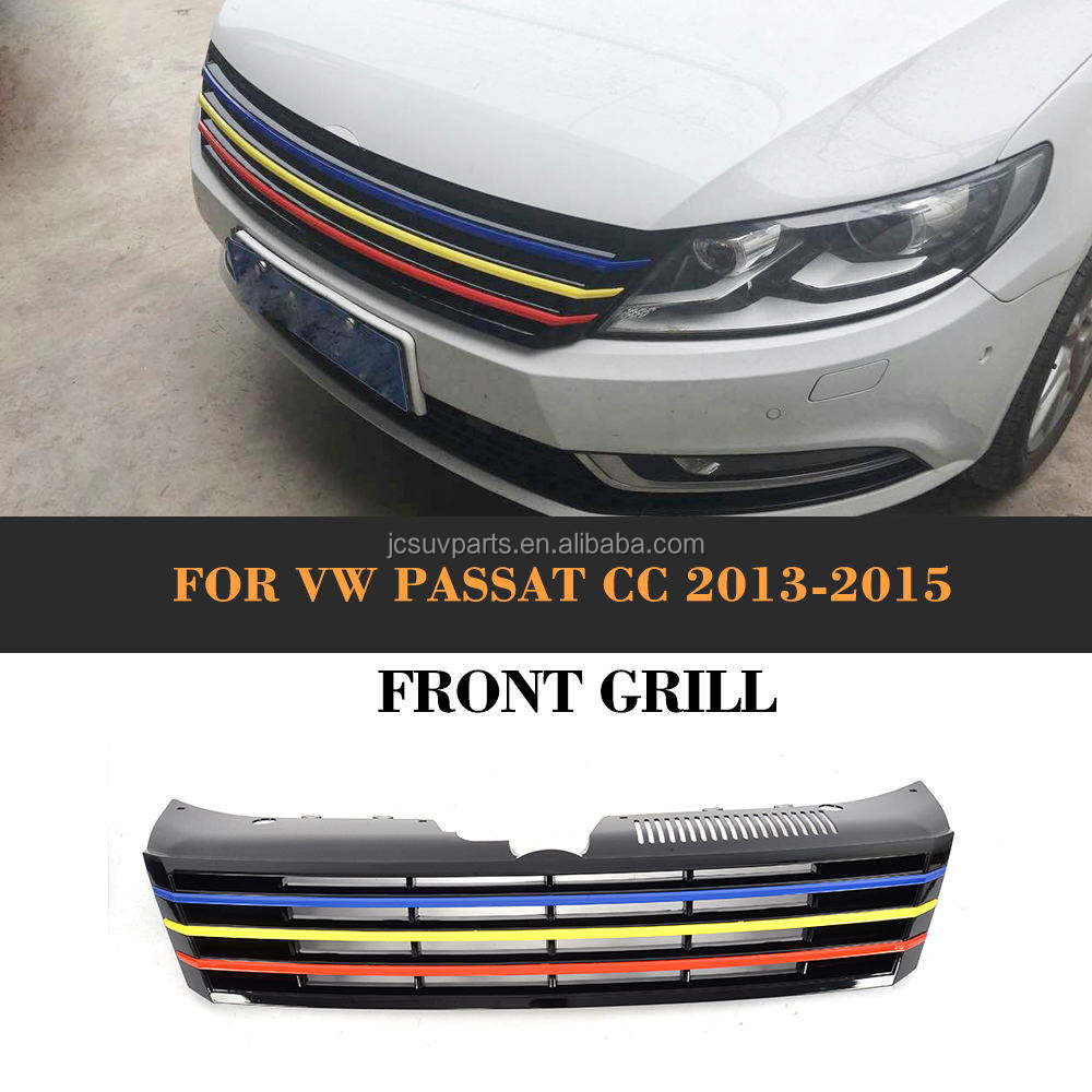 Front Main Grille Vw Passat Cc 2012-2017 High Quality Brand New