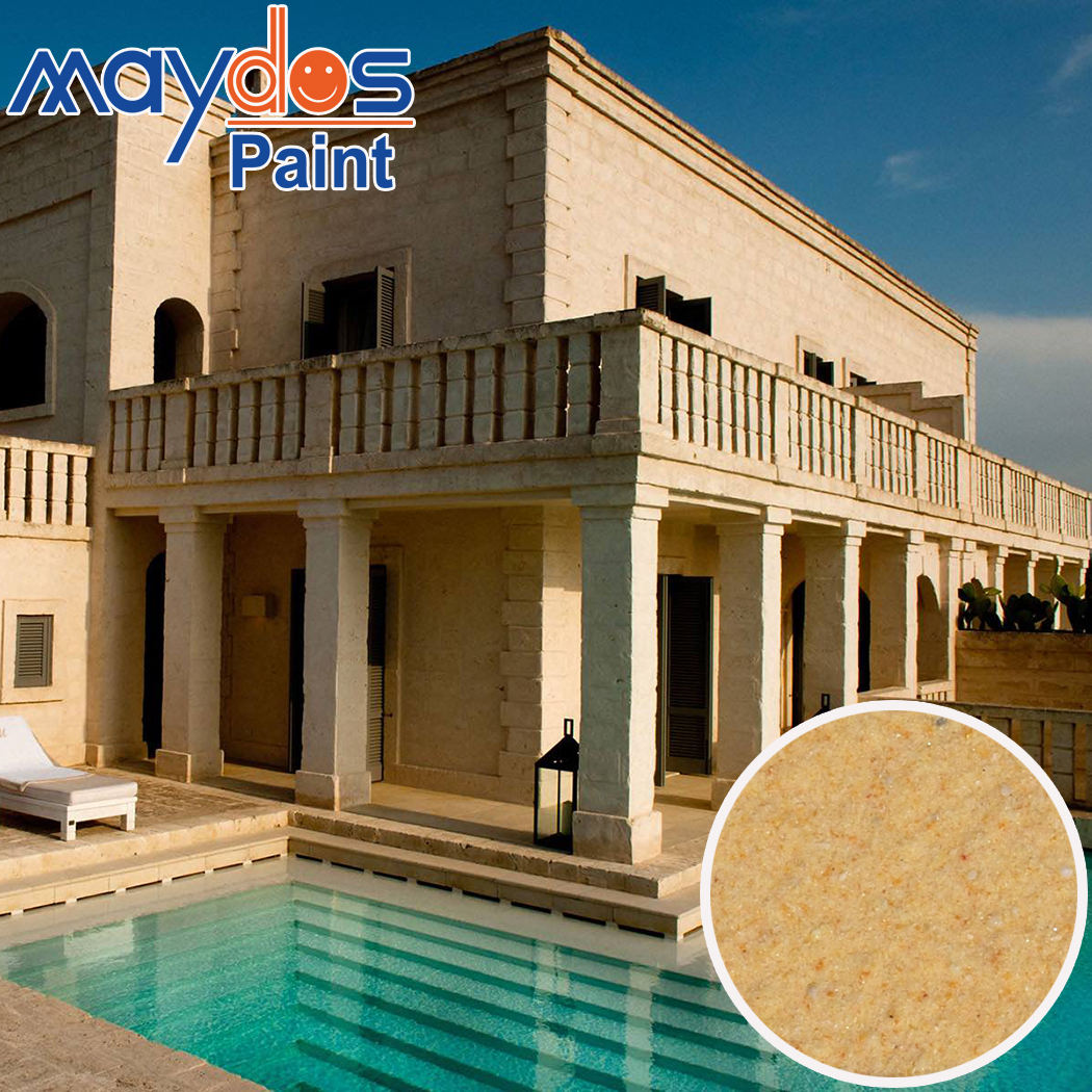 Maydos Stucco Protective Coating for Marble Effect