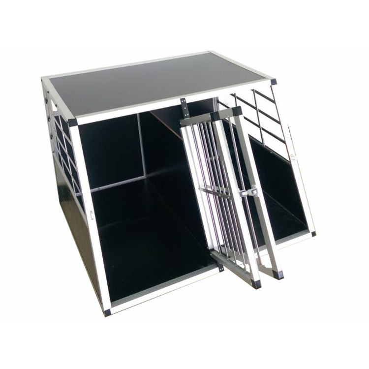 Bringing more convenience to the people in their daily life aluminium pet product big double-door cage