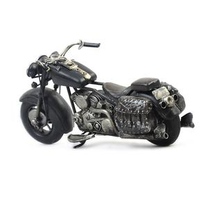 Simulation Vintage Motorcycle Model Retro Toy Iron Metal Crafts Collectible Model Kids Toys Gift For Home