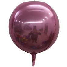 Graduation Party Decoration Giant 32 Inch Pearl Pink Helium Foil 4D Round Balloons