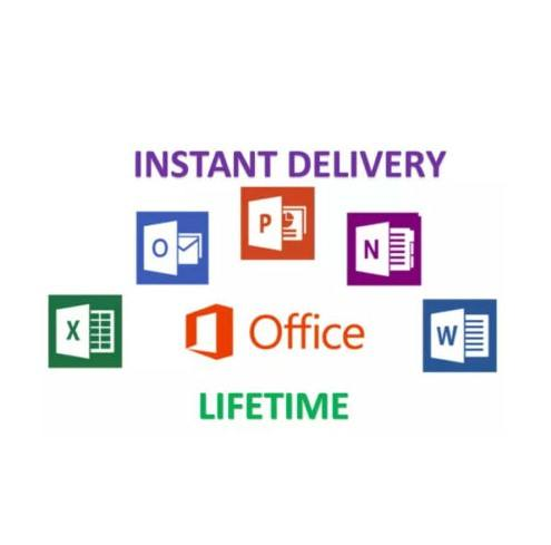 Instan Microsoft Office 365 PRO PLUS Seumur Hidup Akun Office 2016 Office 2019 Pro Key PC
